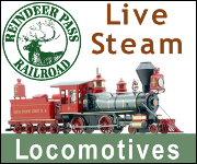 Reindeer Pass Railroad -- Live Steam Locomotives -- http://www.reindeerpass.com/live-steam-locomotives.aspx