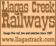 Llagas Creek Railways -- http://www.llagastrack.com/
