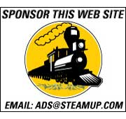 Sponsor this web site -- email: ads@steamup.com