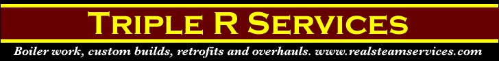 Triple R Services -- Boiler work, custom builds, retrofits and overhauls -- www.realsteamservices.com