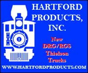 Hartford Products, Inc. -- New DRG/RGS Thielson Trucks -- www.hartfordproducts.com