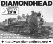 International Small Scale Steamup -- Diamondhead 2016, Jan. 10-17
