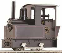 Little loco: A new entry-level 0-4-0 locomotive from Accucraft, called 'Dora,' will retail for $395.