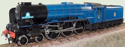 Accucraft 'Tornado': A 1:32-scale live steam model of England's most recent mainline locomotive.