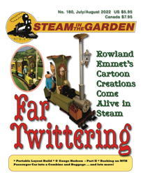 Newsflash: Steam in the Garden's current cover