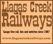 Llagas Creek Railways -- http://www.llagascreekrailways.com/