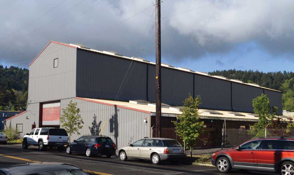 Remodeled industrial building that is Staver Locomotive. Photo by Tom Winter.